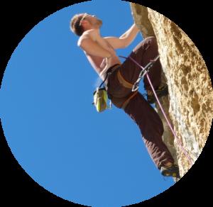 Sportif, escalade, ostéopathie